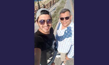 Πάνος Ζάρλας: Το δημόσιο «ευχαριστώ» του πατέρα του λίγο μετά την κηδεία του συγκινεί (photos)