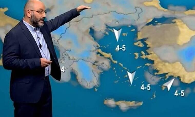 Καιρός: Από τη ζέστη... ξανά στις καταιγίδες! Η προειδοποίηση του Σάκη Αρναούτογλου (video)