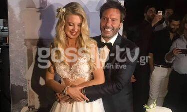 Γάμος Τζώρτζογλου-Μαριόλα: Το φωτογραφικό άλμπουμ του ξεχωριστού γάμου τους (exclusive photos)