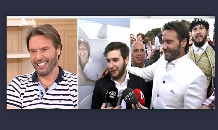 Happy Day: Η συγκίνηση του Τζώρτζογλου on air! Δείτε τι δήλωσε ο γιος του μετά το γάμο του ηθοποιού!