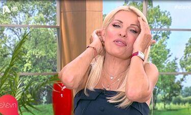 Ελένη: Έπιανε το κεφάλι της on air – Δε φαντάζεστε τι συνέβη (Video)