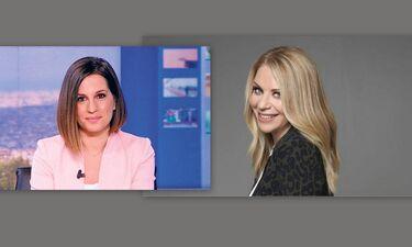 Έλλη Στάη - Νίκη Λυμπεράκη: Αλλαγή σκυτάλης στο δελτίο ειδήσεων του ΟPEN (photos)
