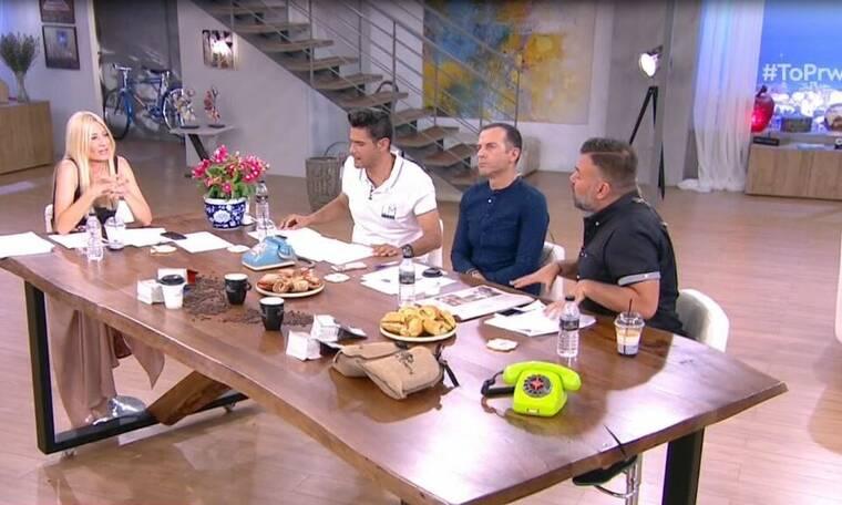 Ένταση στο Πρωινό για τον Αντώνη Ρέμο: Aπίστευτες ατάκες on air (Video)