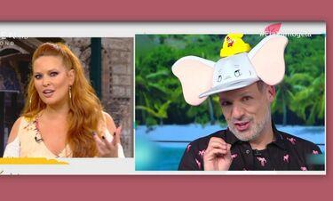 Ο Μουτσινάς τρόλαρε τη Χρηστίδου για την ρετουσαρισμένη φωτό της και η Σίσσυ απάντησε on air! (Vid)