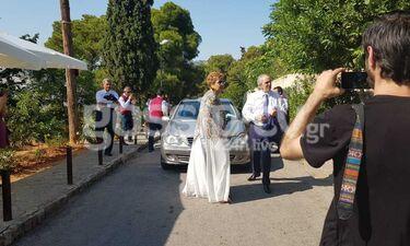 Γάμος Μπαλατσινού - Κικίλια: Οι γονείς του ζευγαριού στην εκκλησία (exclusive photos)