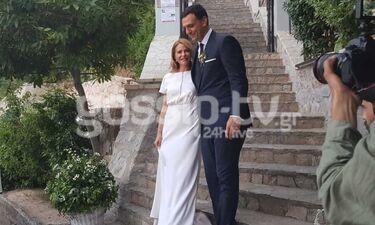 Γάμος Μπαλατσινού - Κικίλια: Δείτε ποια επώνυμη έπιασε την ανθοδέσμη (exclusive photos&video)