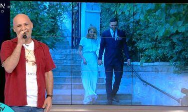 Μπαλατσινού – Κικίλιας: Το απίστευτο σχόλιο του Μουτσινά για το γάμο τους (Video)