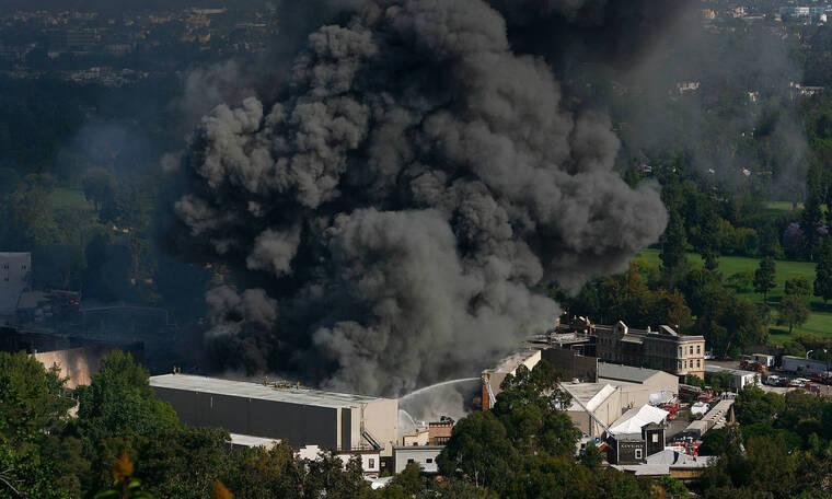 Φωτιά στα Universal studios προκάλεσε ανυπολόγιστη ζημιά στις ηχογραφήσεις των stars (photos)