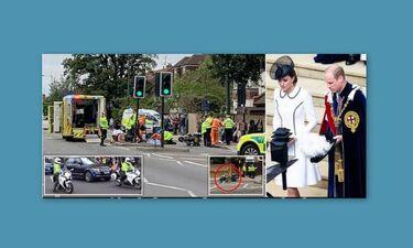 Σοκ:Η συνοδεία του πρίγκιπα Ουίλιαμ και της Μίντλετον προκάλεσε τροχαίο - Στο νοσοκομείο μια γυναίκα
