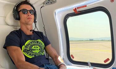 Αναχώρησε από τη Μεσσηνία ο Christiano Ronaldo (photos)