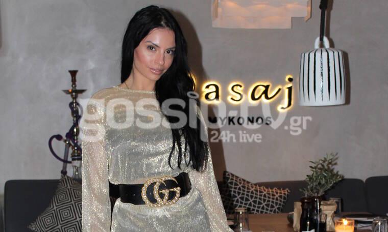 Δήμητρα Αλεξανδράκη: Με το πιο sexy look στη Μύκονο (photos)