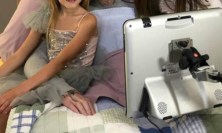 Συγκλονίζει γνωστός ποδοσφαιριστής! Γιόρτασε τα γενέθλια της κόρης του μέσα από το νοσοκομείο (Pics)