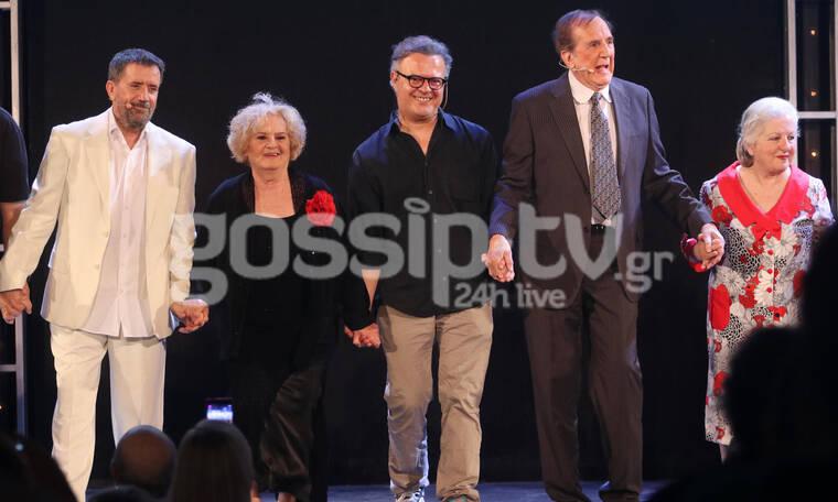 Θέατρο Άλσος: Λαμπερές παρουσίες στην επίσημη πρεμιέρα της παράστασης «Το δικό μας σινεμά» (pics)
