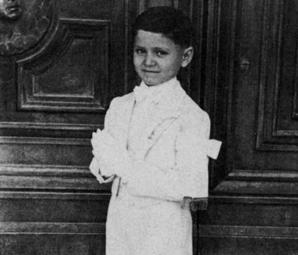 Από μικρός ήταν καλοντυμένος και με γούστο