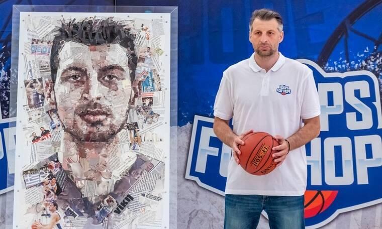 Ηοοps for Hope: Ο Παπαλουκάς επιστρέφει στο γήπεδο για τους αθλητές της ΟΣΕΚΑ