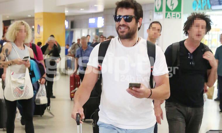 Ο Αλέξης Γεωργούλης επέστρεψε από Βρυξέλλες και τον… υποδεχτήκαμε στο αεροδρόμιο! (photos)