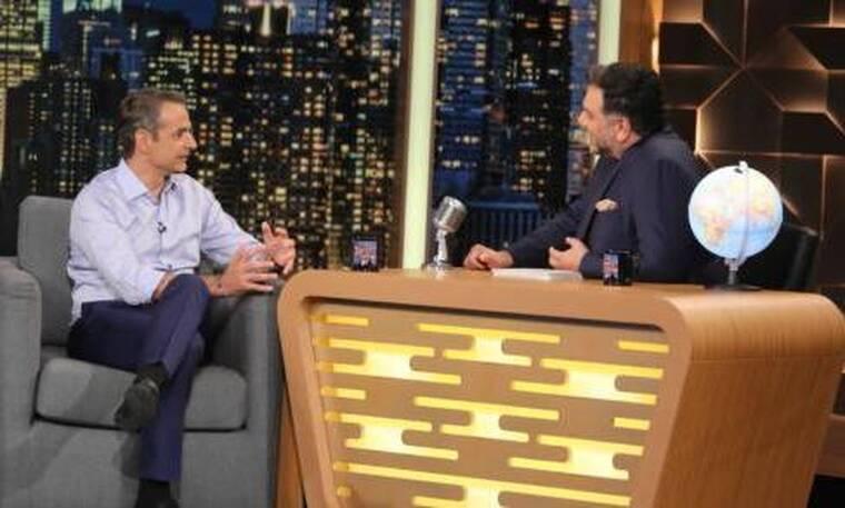 The 2Night Show: Ο Κυριάκος Μητσοτάκης μιλάει για όλα στον Γρηγόρη Αρναούτογλου