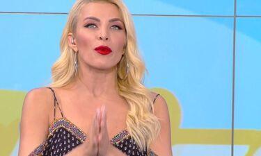 MADVMA 2019: Η Καινούργιου έμεινε άφωνη με τη σέξι εμφάνιση τραγουδίστριας (Video)