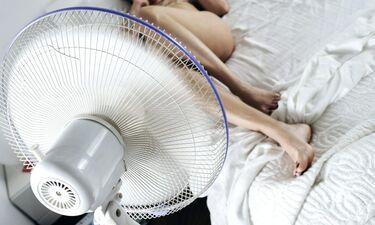 Γι' αυτό δεν πρέπει να κοιμάστε με ανεμιστήρα ανοικτό! (photos)