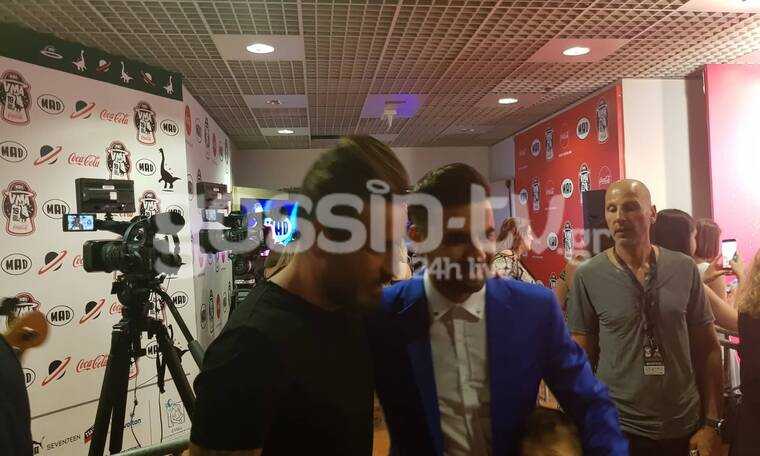 MAD Video Music Awards 2019: Η συνάντηση μετά από καιρό Μαραντίνη-Μαυρίδη και οι αγκαλιές! (video)