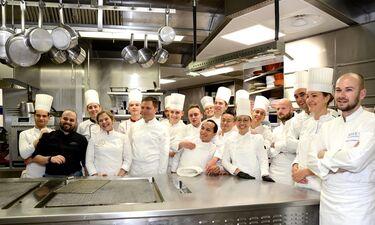 Η Ντίνα Νικολάου μαγείρεψε με το μύθο της γαστρονομίας Alain Ducasse στο Μονακό (photos)