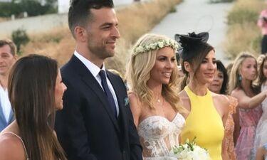 Βούρου - Παπαγεωργίου: Δείτε όλα όσα έγιναν στο λαμπερό γάμο τους (Photos & Videos)