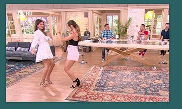 Happy Day: Ο sexy χορός της Σταματίνας Τσιμτσιλή στον αέρα της εκπομπής (video)