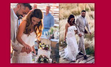 Λασκαράκη – Σουλτάτος:  Οι αδημοσίευτες φωτογραφίες από το γαμήλιο πάρτι τους (Photos)