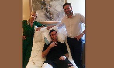 Στο νοσοκομείο ο γιος της Μαρίας Μπακοδήμου και του Δημήτρη Αργυρόπουλου, Άρης (Photo)