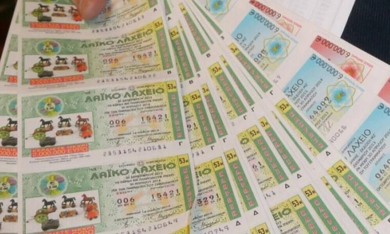 To Λαϊκό Λαχείο μοίρασε περισσότερα από 3.200.000 ευρώ τον Ιούνιο