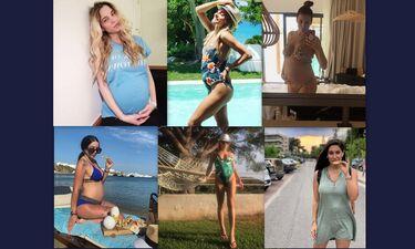 Η εγκυμοσύνη τούς πηγαίνει! Επώνυμες που θα γίνουν μανούλες ποζάρουν στο Instagram (photos)