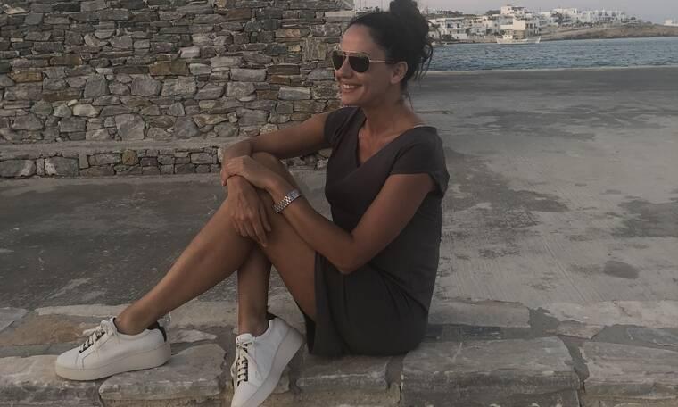 Η Εύη Αδάμ με χαλαρή διάθεση στις καλοκαιρινές της διακοπές (photos)