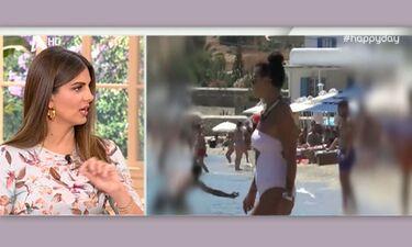 Νίνα Λοτσάρη: Όπως μπήκε, βγήκε από τη θάλασσα της Μυκόνου (Απολαυστικό βίντεο)
