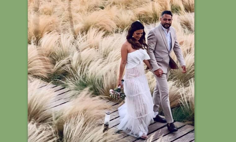 Βάσω Λασκαράκη: Η πρώτη φωτογραφία της στο instagram από το γαμήλιο πάρτι της