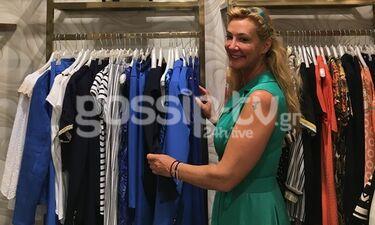 Μαρία Νικόλτσιου: Για αγορές σε γνωστό εμπορικό κέντρο (photos)