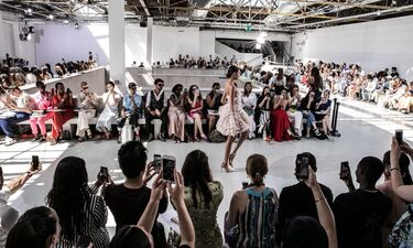 Pas De Deux: Το μαγικό défilé του οίκου Celia Kritharioti Couture στο Παρίσι! (photos)