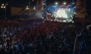 H εκρηκτική εμφάνιση της Τάμτα στη Βαρκελώνη μπροστά σε 100.000 θεατές! (photos+video)