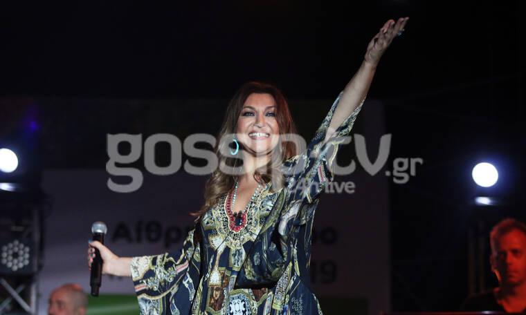Καίτη Γαρμπή: Αποθεώθηκε από το κοινό στη συναυλία της στο Μαρούσι (photos)