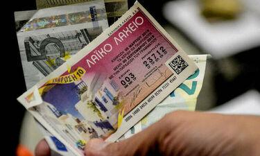 200.000 ευρώ σε ένα μεγάλο τυχερό κληρώνει αύριο το καλοκαιρινό Λαϊκό Λαχείο