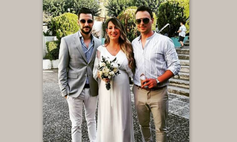 Ο Νίκος Μίχας δημοσίευσε τις πρώτες φωτογραφίες από το γάμο του (Photos)