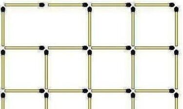 Εσείς πόσα τετράγωνα βλέπετε; 96% απαντούν λάθος! (photo+video)