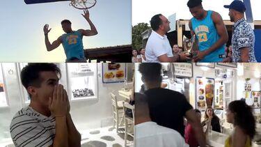 Αντετοκούμπο: Το φιλανθρωπικό event στη Μύκονο, οι βόλτες με το κορίτσι του και ο τρελαμένος φαν!