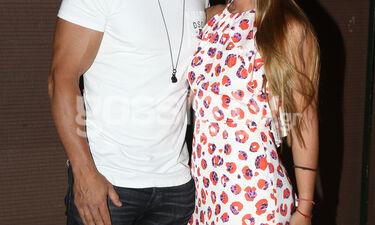 Σπάνια δημόσια εμφάνιση για ερωτευμένο ζευγάρι της ελληνικής showbiz (photos)