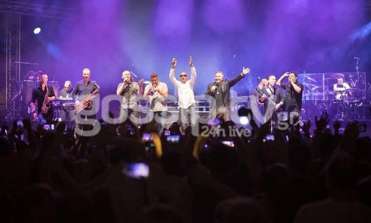 Το αδιαχώρητο στη συναυλία των UB40 - Αντώνη Ρέμου στη Θεσσαλονίκη (exclusive photos&videos)