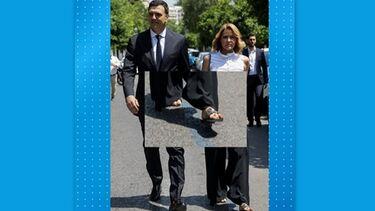 Μέγα θέμα συζήτησης τα φλατ παπούτσια της Τζένης Μπαλατσινού στο Προεδρικό Μέγαρο! (video)