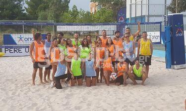 W.I.N. Hellas! H συγκινητική συμμετοχή επωνύμων στον αγώνα beach volley! (exclusive video+photos)