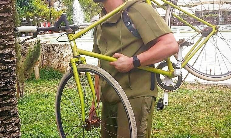 Πήρε το ποδήλατό του και βγήκε τσάρκα (photos&video)