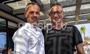 Ο επιτυχημένος σεφ Γιώργος Παπαΐωάννου, τώρα και στην Κύπρο (photos)