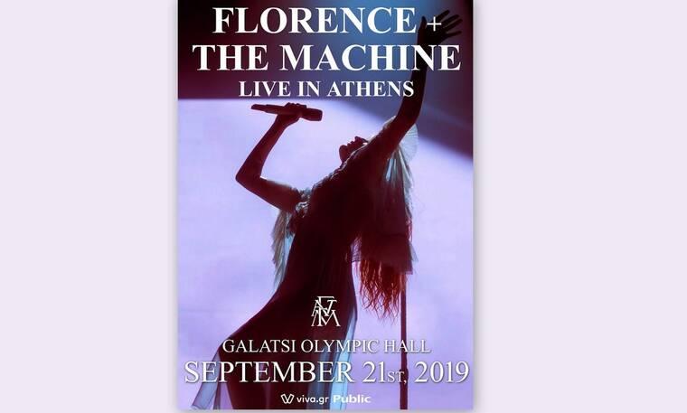 Florence + The Machine:  Είναι επίσημο! 3η και τελευταία συναυλία