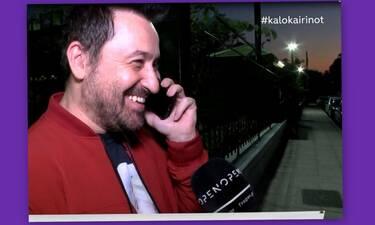 Συνέβη κι αυτό! Ο Γεωργαντάς τηλεφώνησε on camera στον Λιάγκα και δεν πάει ο νους σας τι τον ρώτησε!